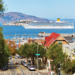 california, cruise, san francisco, ocean