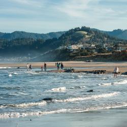 oregon, coast, gamble, lincoln city, tulalip, beach