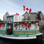 christmas, victoria, inner harbour, doubletree hilton, craigdarroch castle, royal bc museum, high tea, empress hotel