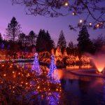 vancouver, christmas, vandusen festival of lights, revolving restaurant, hyatt regency gingerbread lane